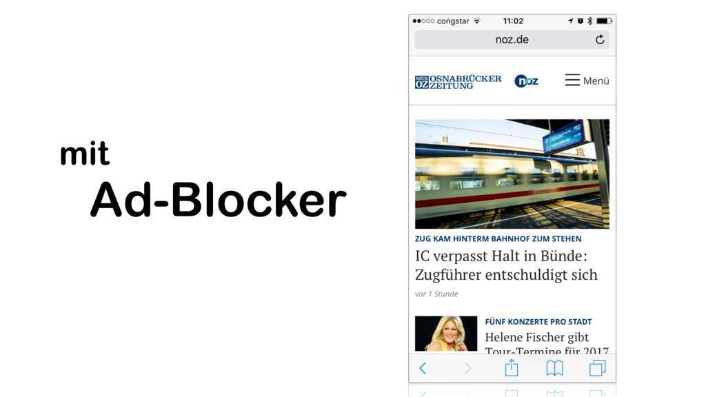 Ad-Blocker mit