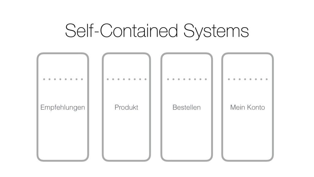 Empfehlungen Produkt Bestellen Mein Konto Self-...