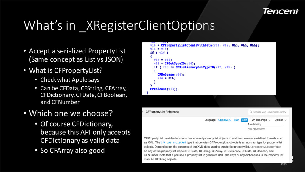 What's in _XRegisterClientOptions • Accept a se...