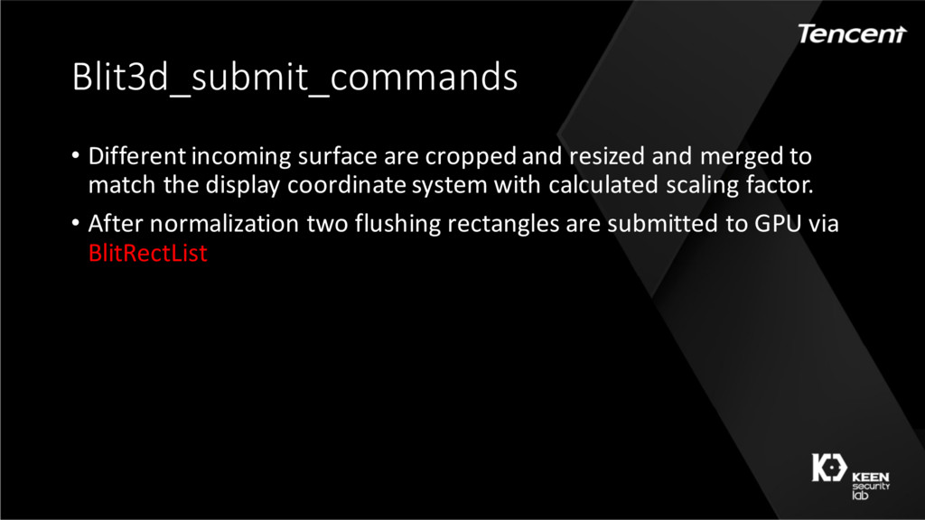 Blit3d_submit_commands • Different incoming sur...