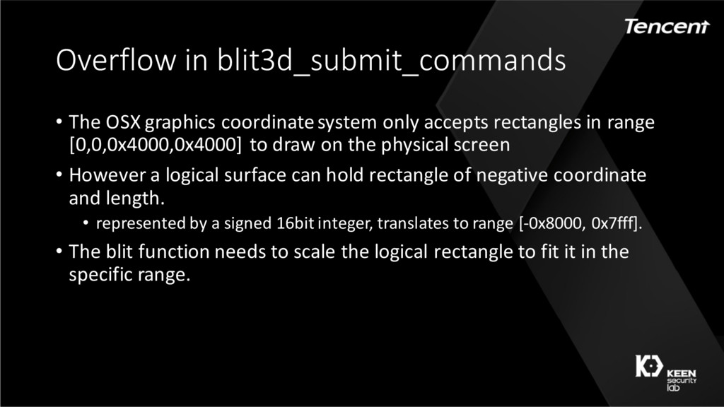 Overflow in blit3d_submit_commands • The OSX gr...