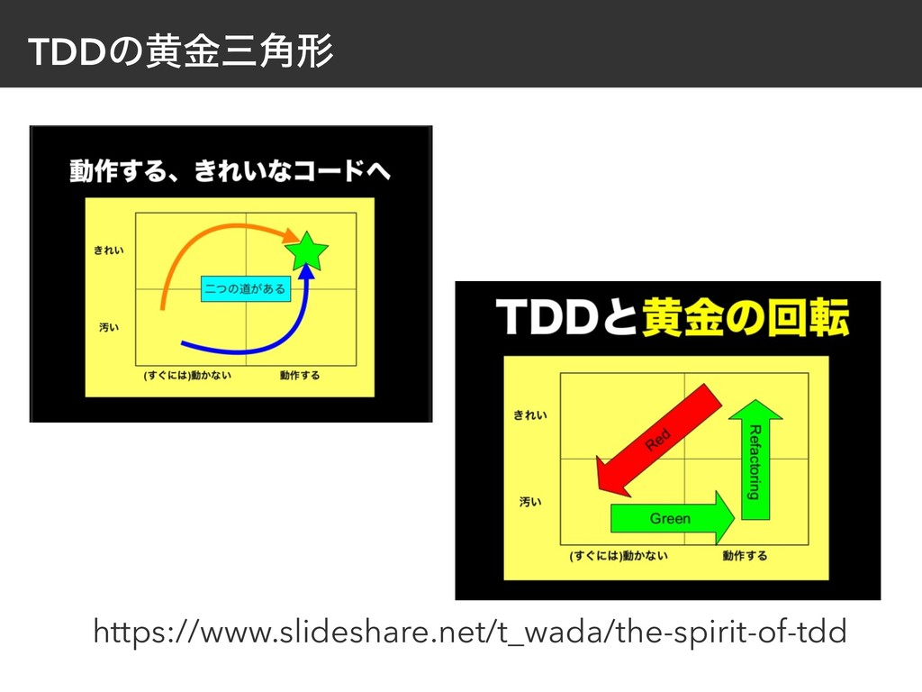 TDDͷԫۚࡾ֯ܗ https://www.slideshare.net/t_wada/the...
