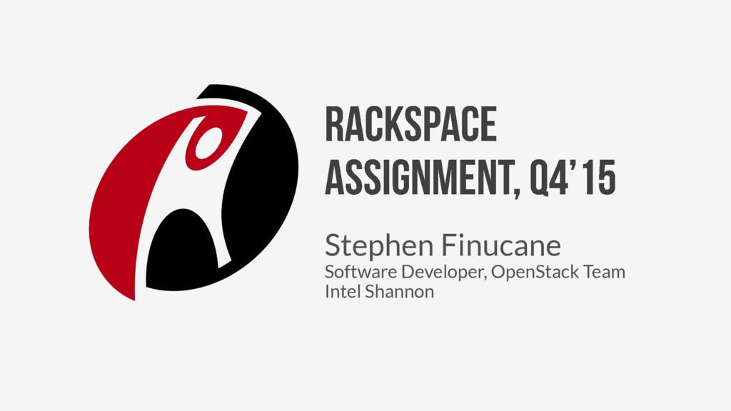 Stephen Finucane Software Developer, OpenStack ...