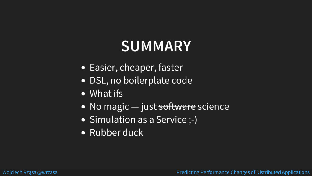 SUMMARY Easier, cheaper, faster DSL, no boilerp...