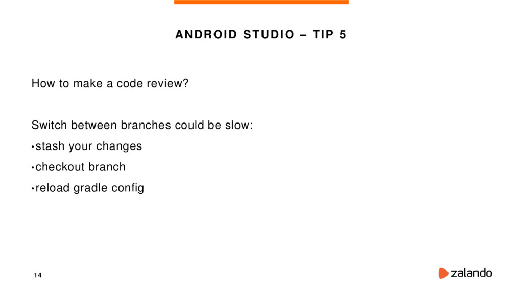 14 ANDROID STUDIO – TIP 5 How to make a code re...