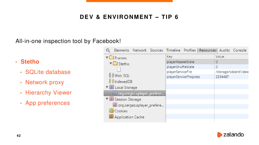 42 DEV & ENVIRONMENT – TIP 6 All-in-one inspect...