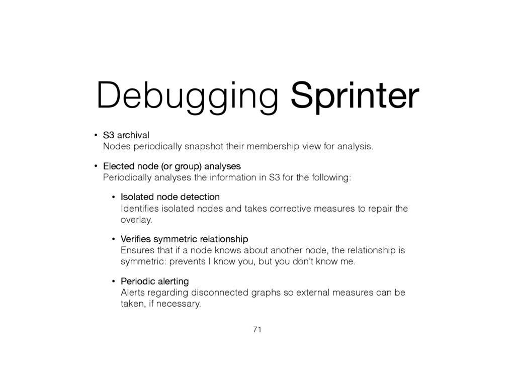 Debugging Sprinter • S3 archival Nodes periodi...