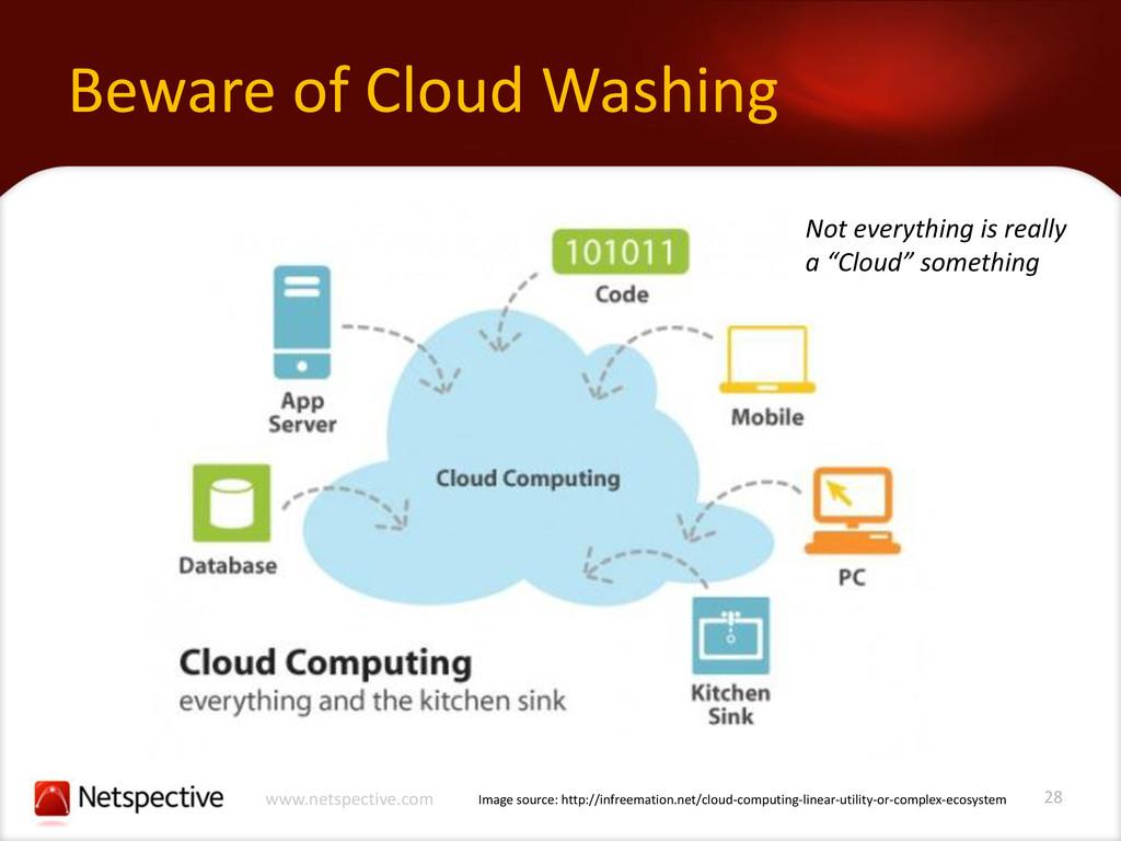28 www.netspective.com Beware of Cloud Washing ...