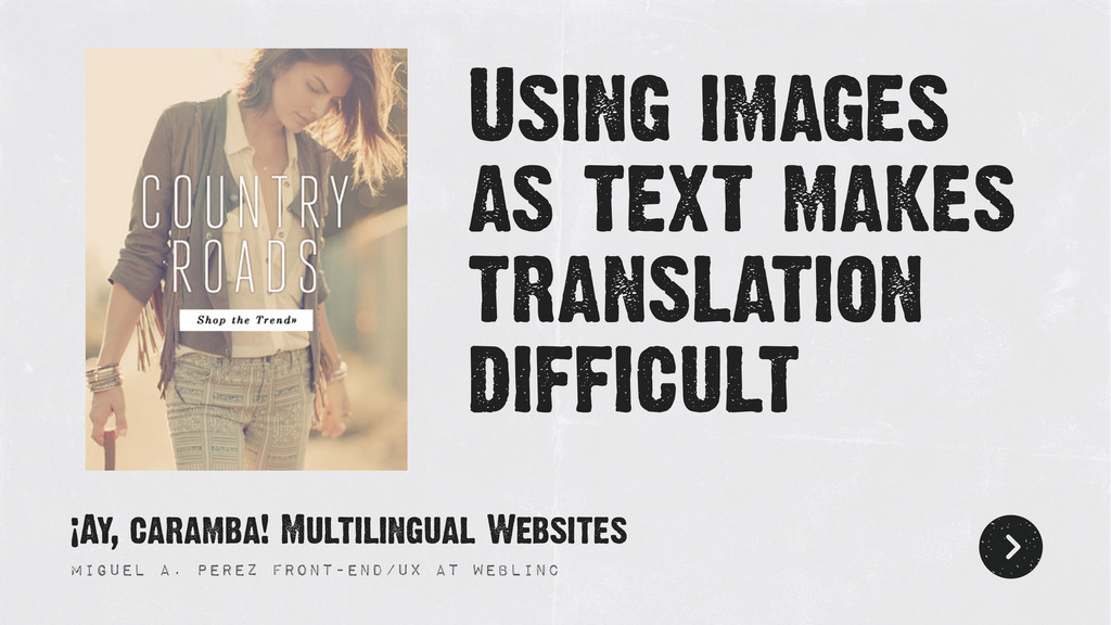Using images as text makes translation difficul...