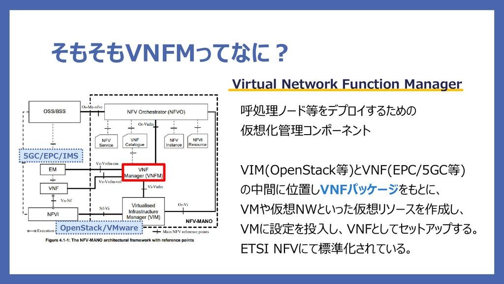そもそもVNFMってなに? Virtual Network Function Manager ...