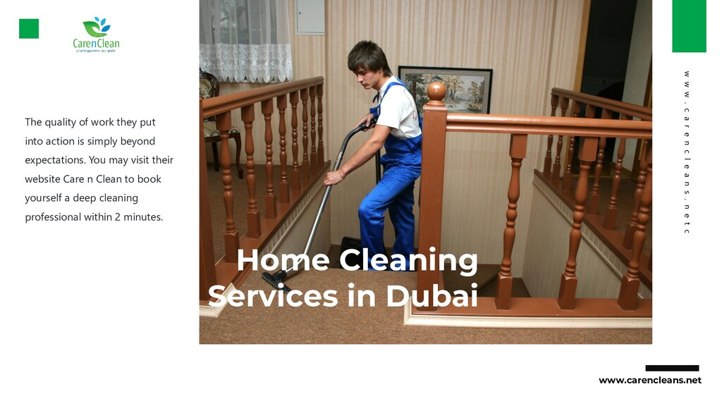 Home Cleaning Services in Dubai The quality of ...