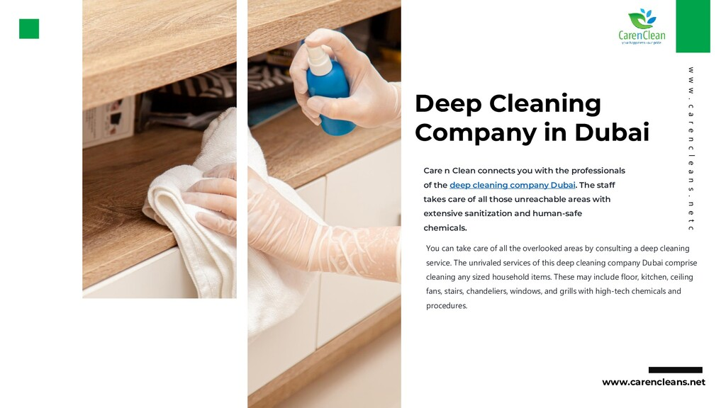 Deep Cleaning Company in Dubai You can take car...