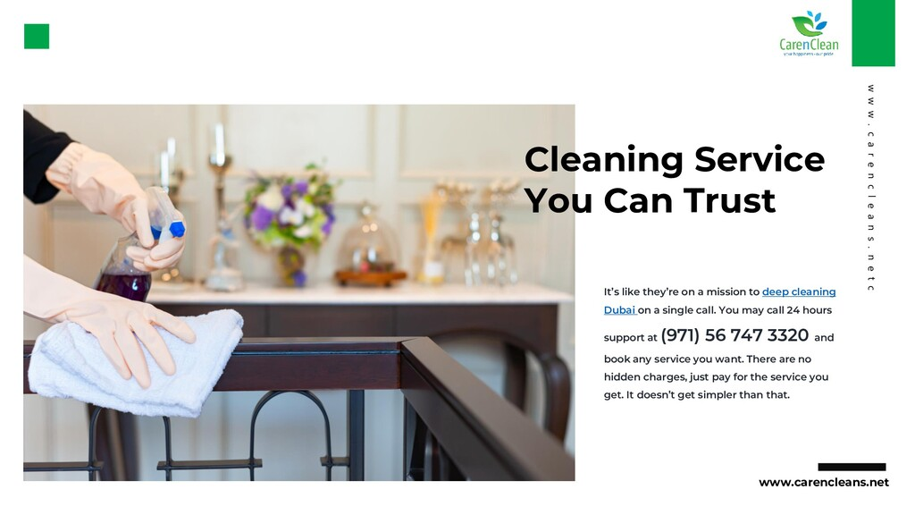 Cleaning Service You Can Trust It's like they'r...