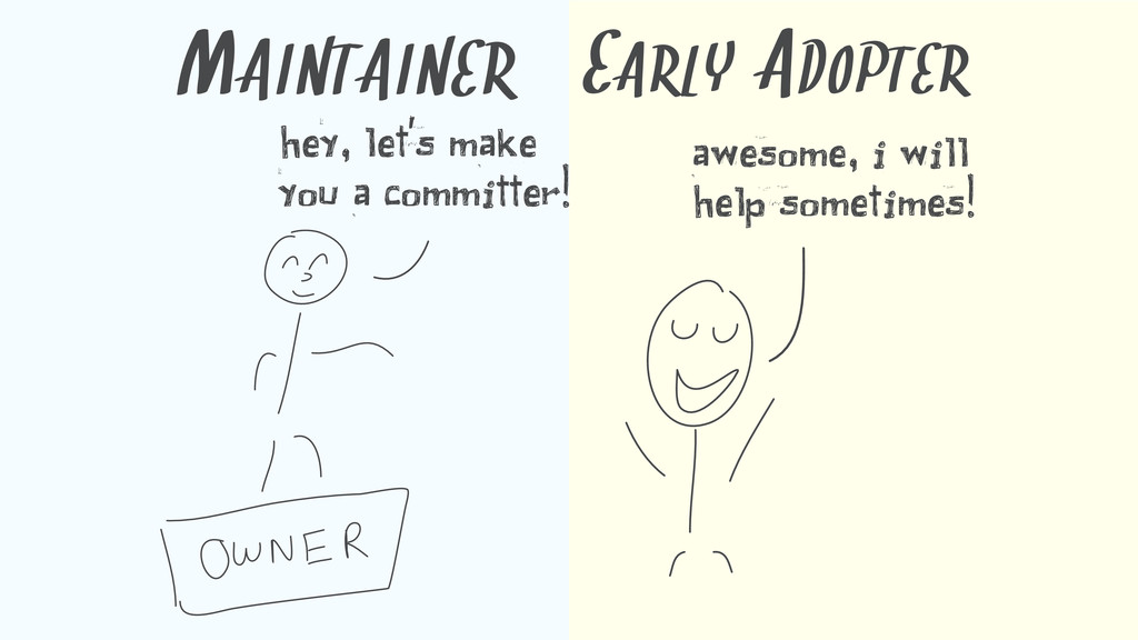 MAINTAINER hey, let's make you a committer! EAR...