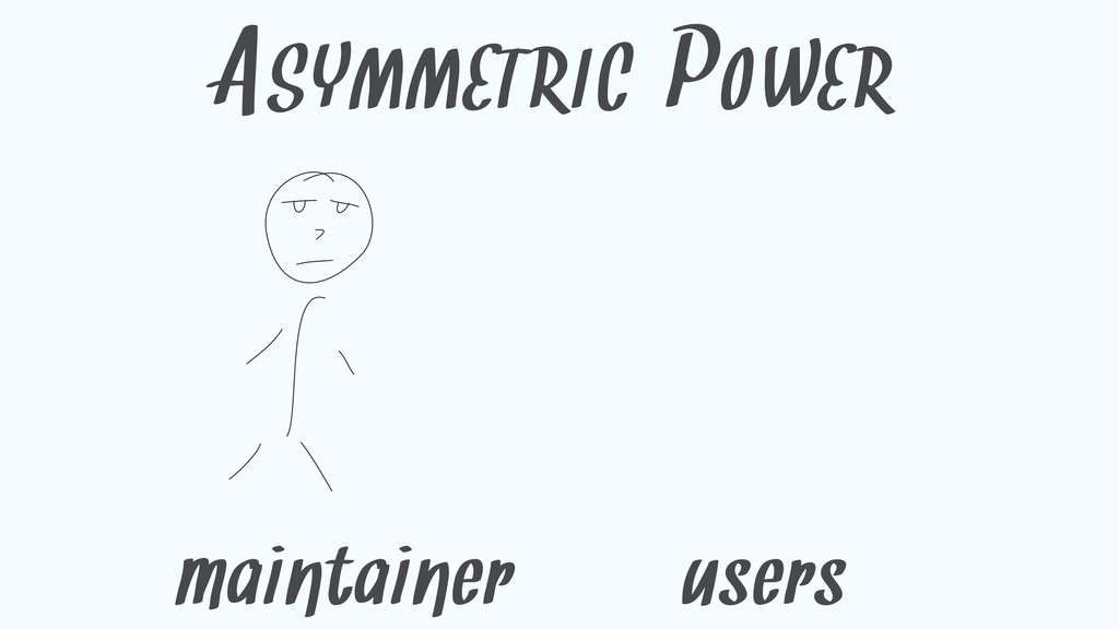 ASYMMETRIC POWER maintainer users