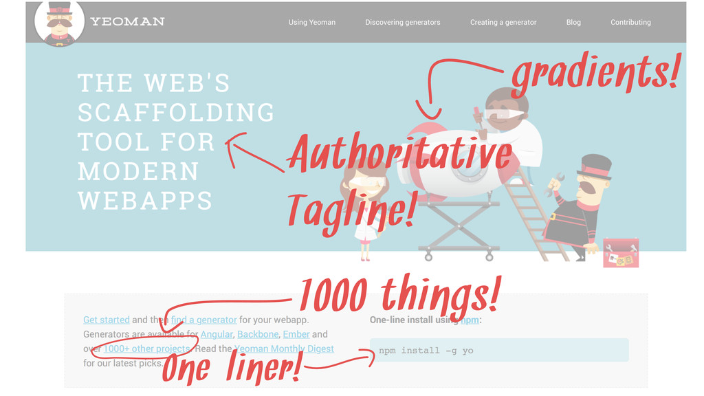 gradients! 1000 things! One-liner! Authoritativ...
