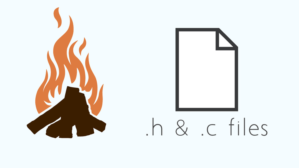 .h & .c files
