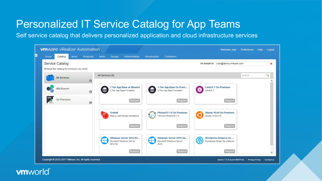 Personalized IT Service Catalog for App Teams S...