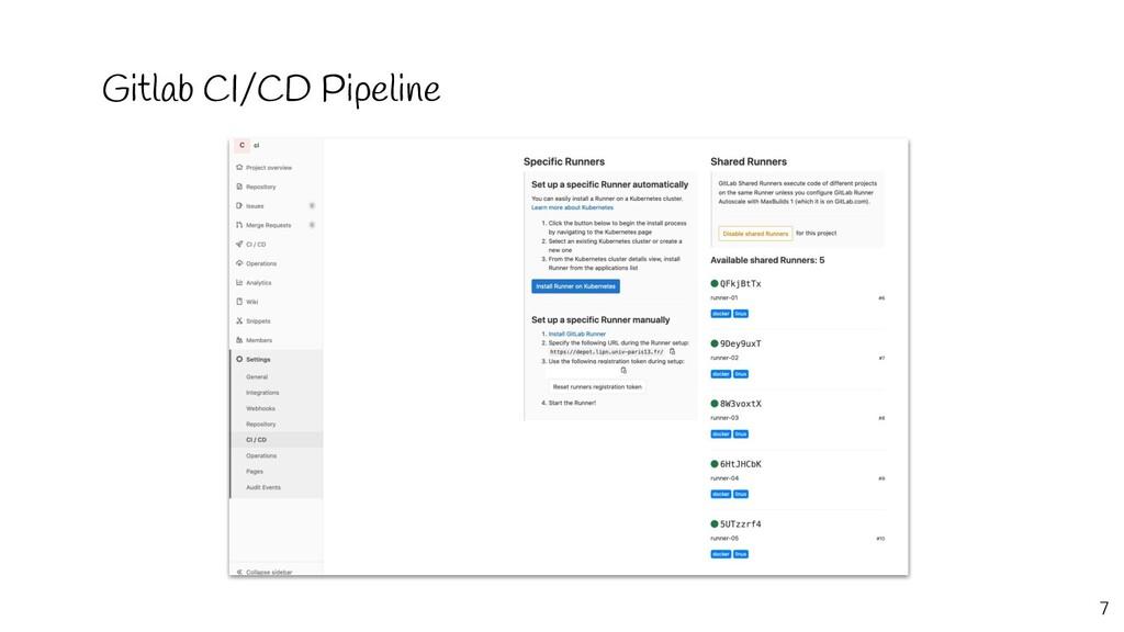 Gitlab CI/CD Pipeline 7