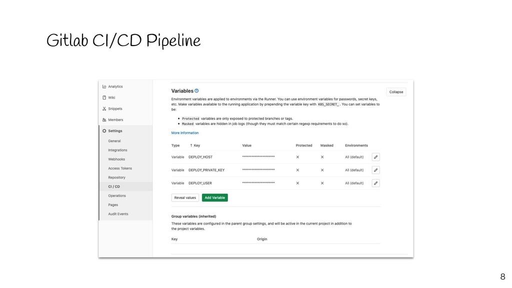 Gitlab CI/CD Pipeline 8