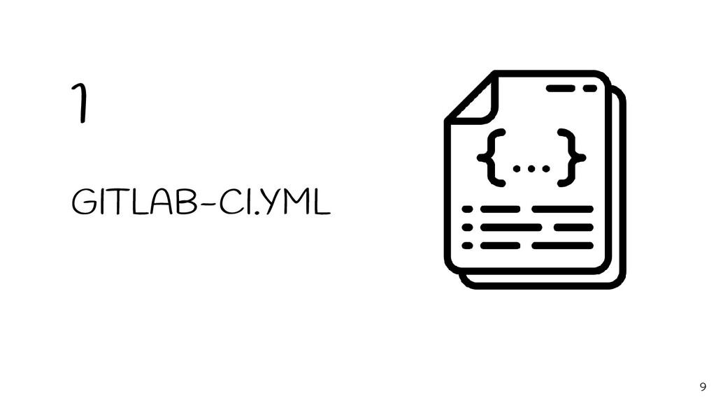 GITLAB-CI.YML 1 9