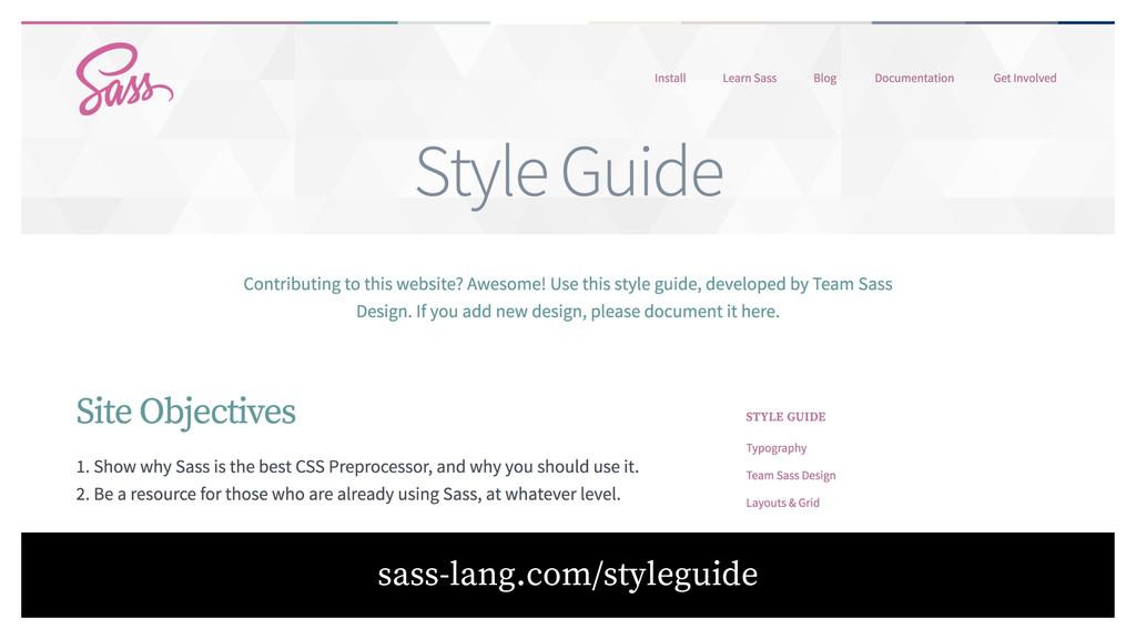 sass-lang.com/styleguide