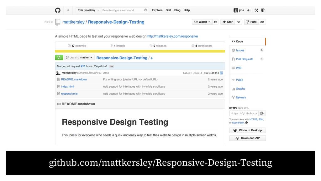 github.com/mattkersley/Responsive-Design-Testing