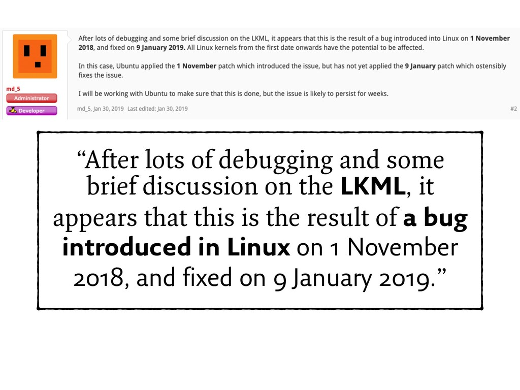 """""""After lots of debugging and some brief discuss..."""