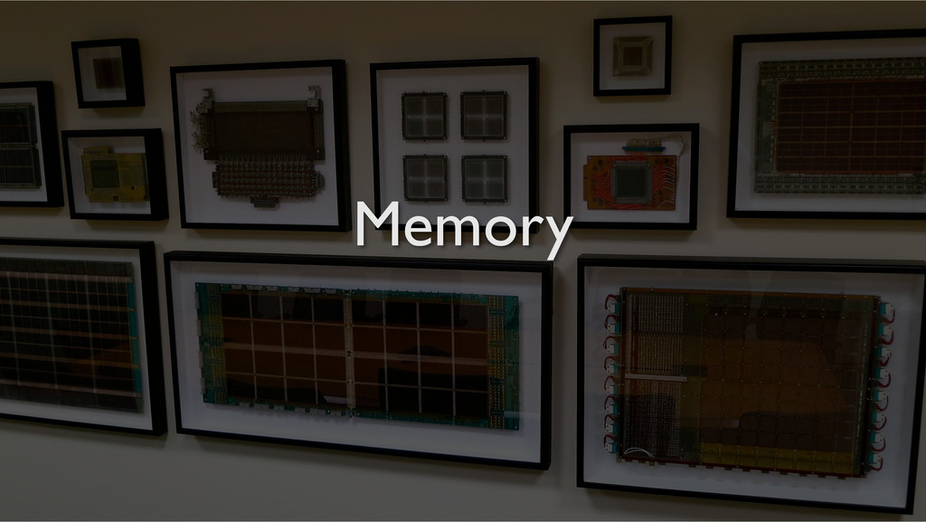 blah! Memory Memory!