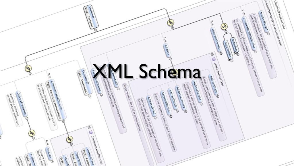 XML Schema!