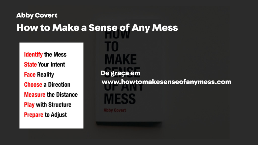 Abby Covert How to Make a Sense of Any Mess www...