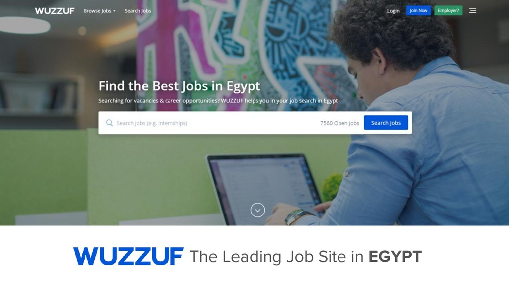 The Leading Job Site in EGYPT