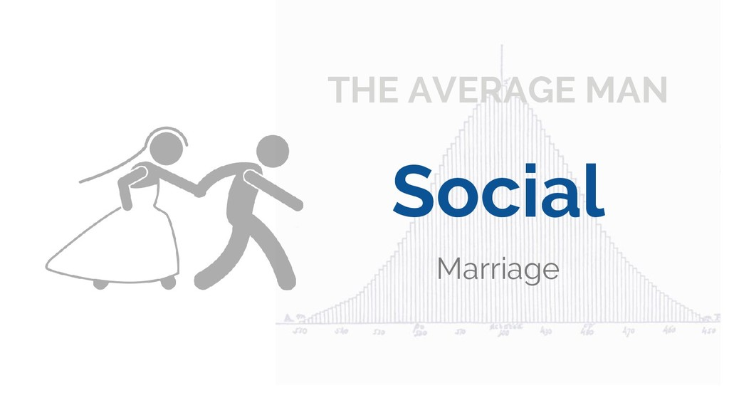 THE AVERAGE MAN Social Marriage