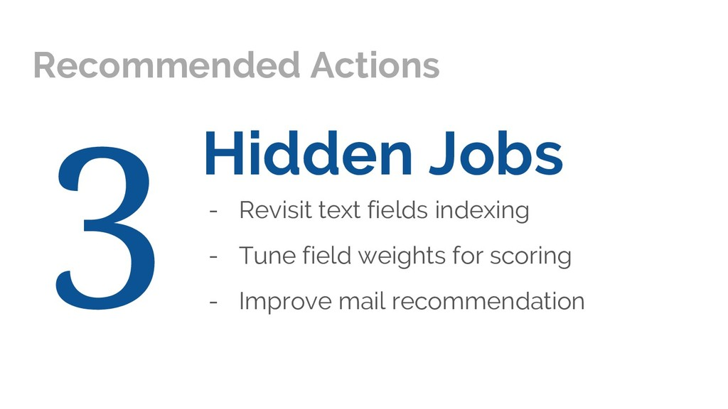 Hidden Jobs - Revisit text fields indexing - Tu...