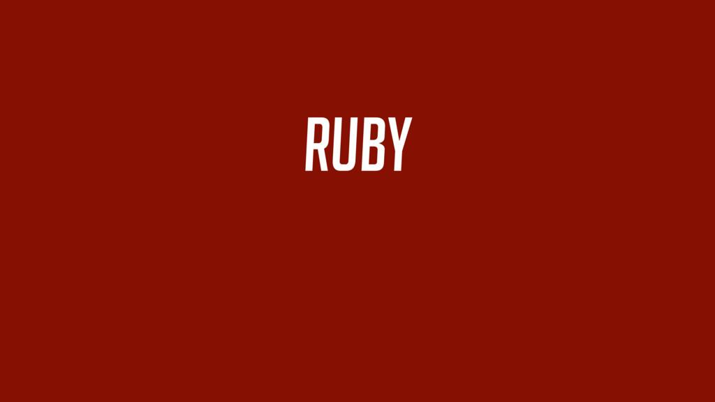 ruby +
