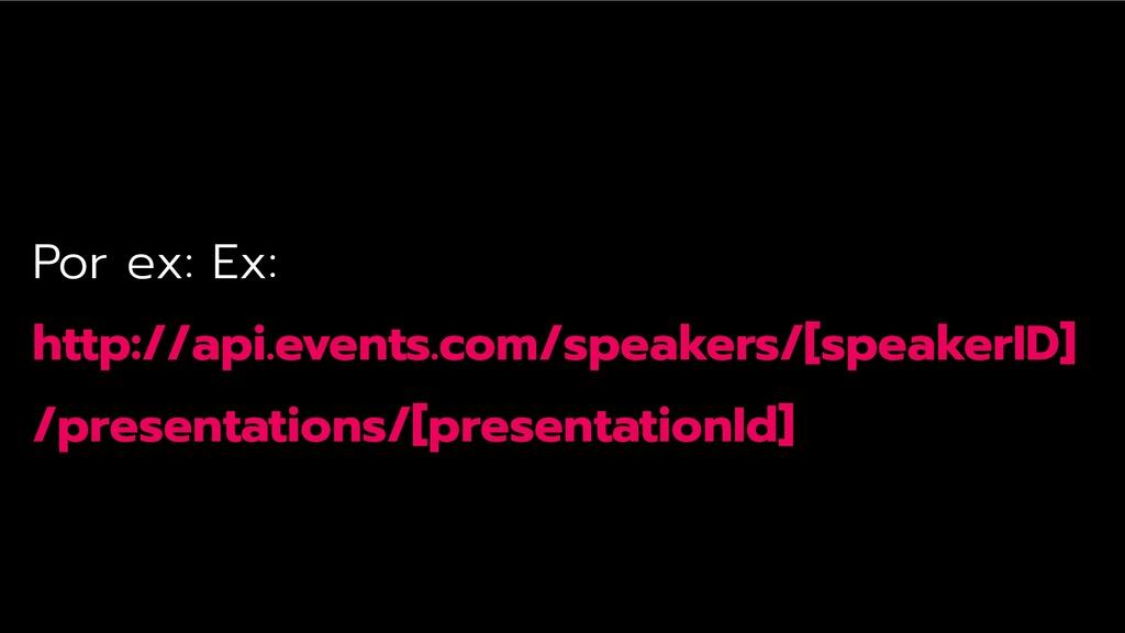 Por ex: Ex: http://api.events.com/speakers/[spe...