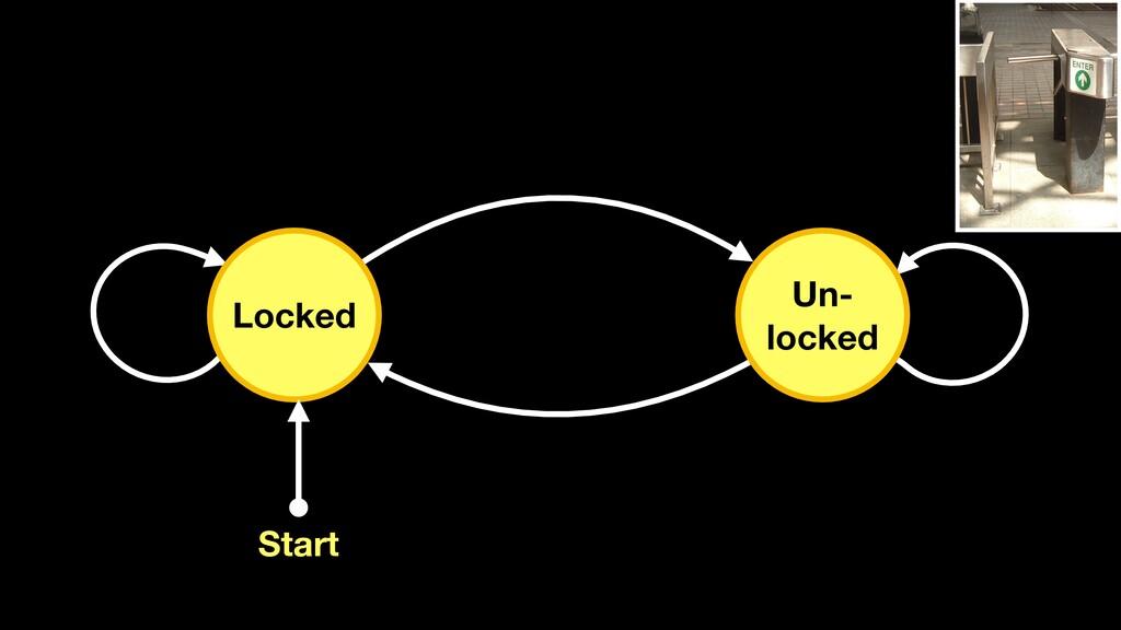 Locked Un- locked Start