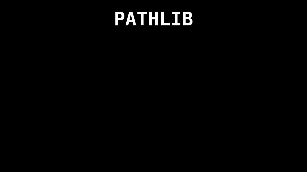 PATHLIB