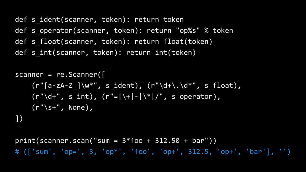 def s_ident(scanner, token): return token def s...
