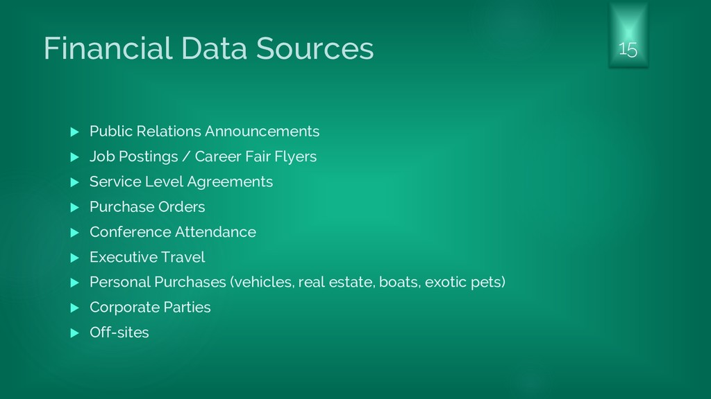 Financial Data Sources  Public Relations Annou...