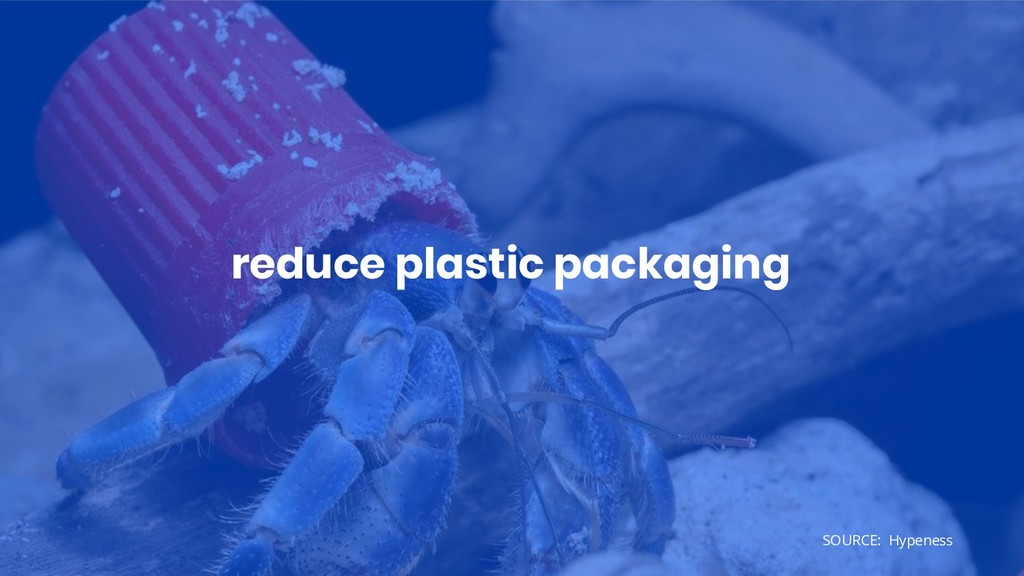 reduce plastic packaging SOURCE: Hypeness