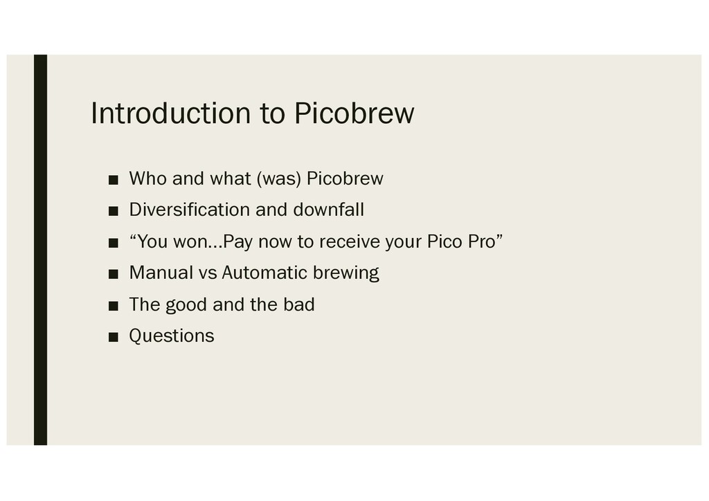 Introduction to Picobrew ■ Who and what (was) P...