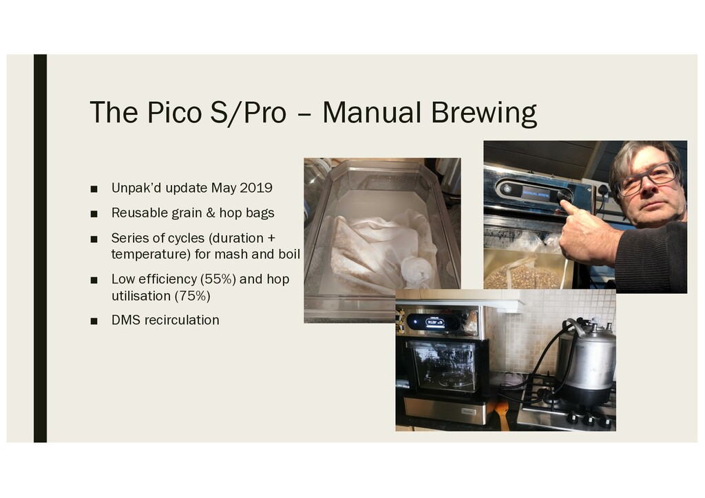 The Pico S/Pro – Manual Brewing ■ Unpak'd updat...