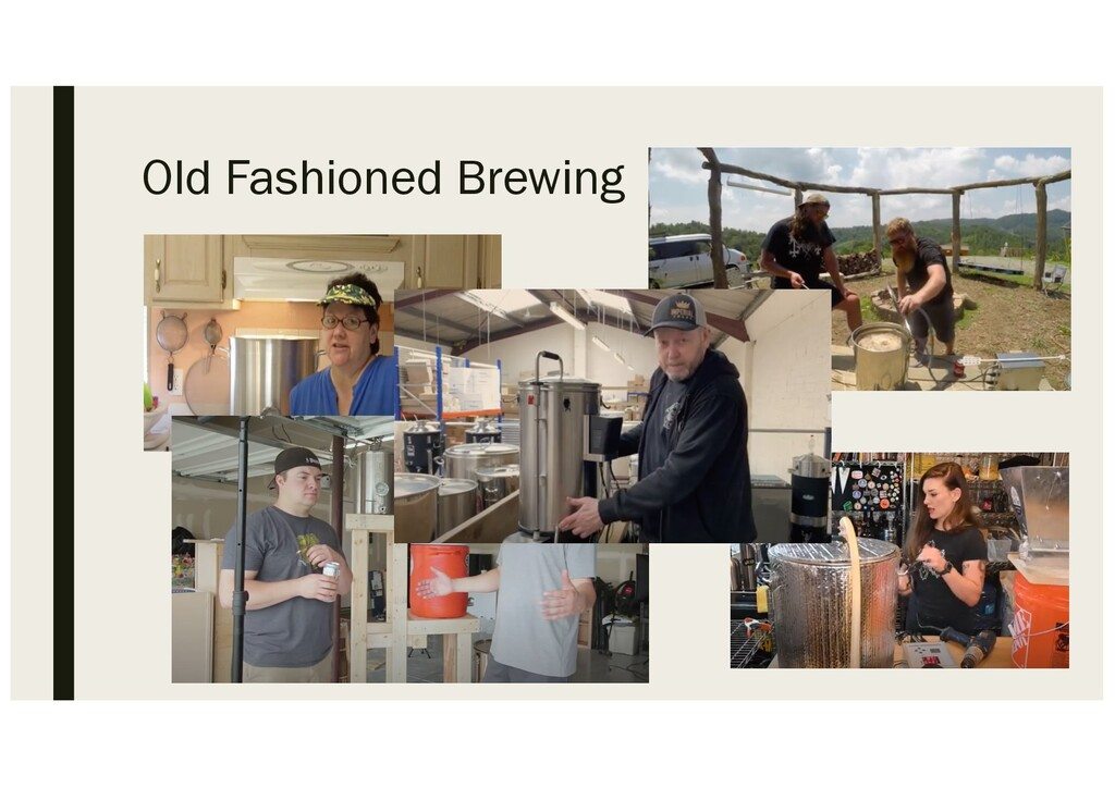 Old Fashioned Brewing