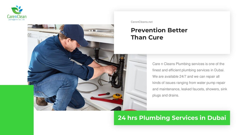 Prevention Better Than Cure Care n Cleans Plumb...