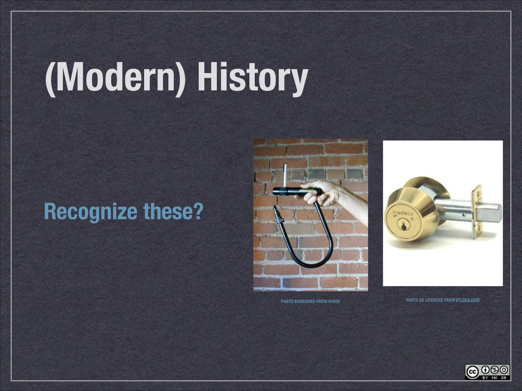 (Modern) History Recognize these? PHOTO BORROWE...