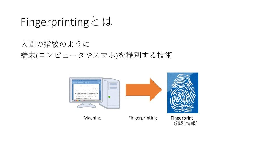 Fingerprinting   () ...