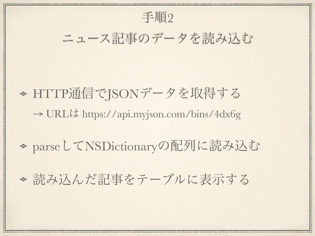 खॱ2 χϡʔεهͷσʔλΛಡΈࠐΉ HTTP௨৴ͰJSONσʔλΛऔಘ͢Δ → URL...