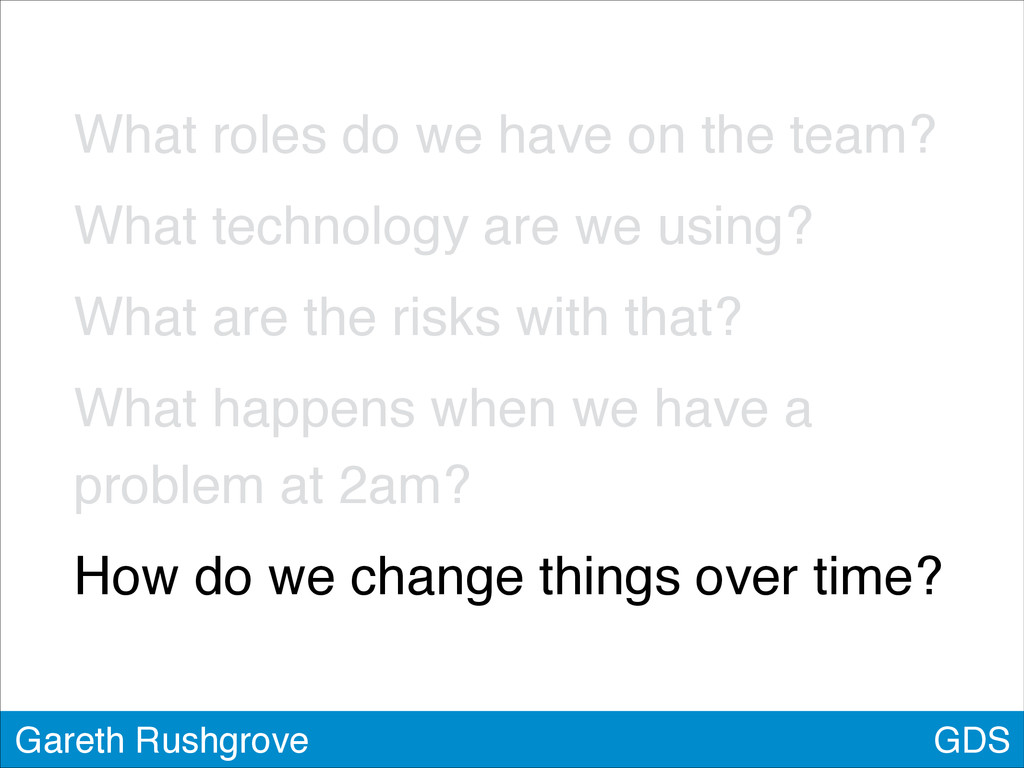 What roles do we have on the team?! ! What tech...