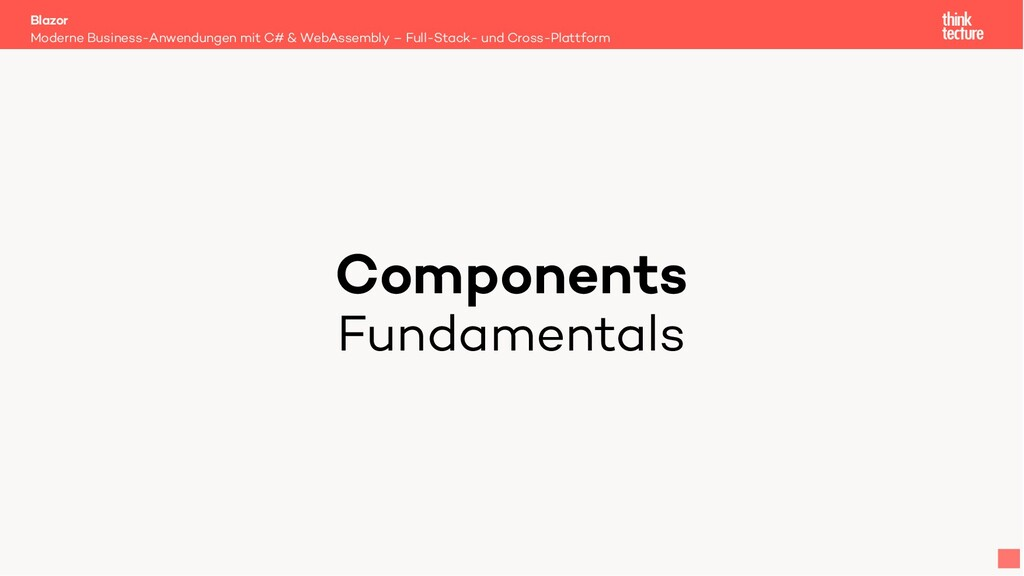 Components Fundamentals Moderne Business-Anwend...